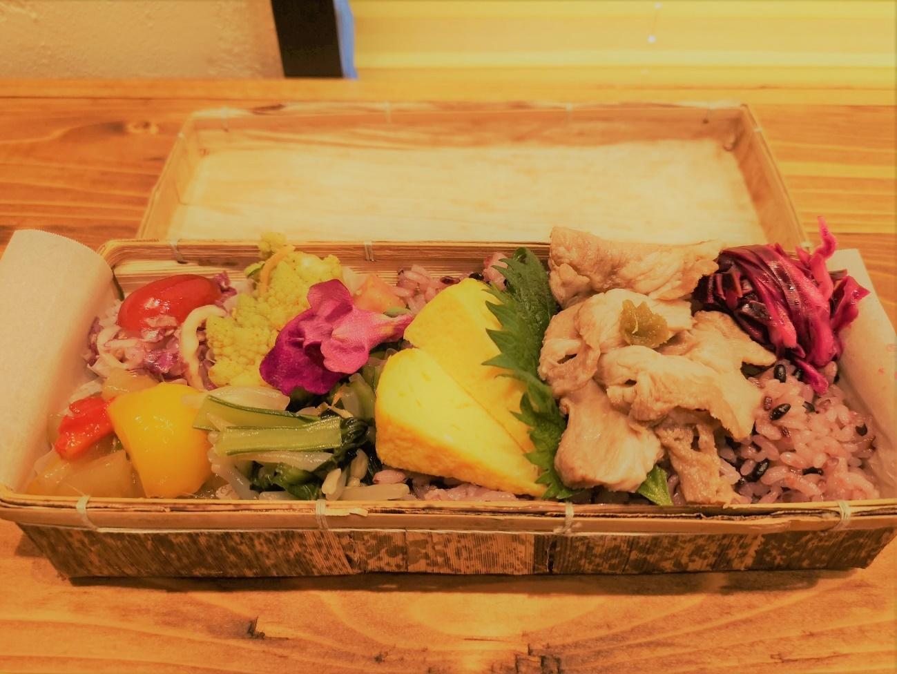 竹川のお弁当の中身